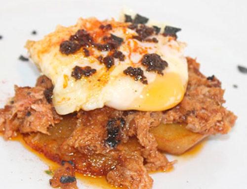 Tapa de huevo de corral